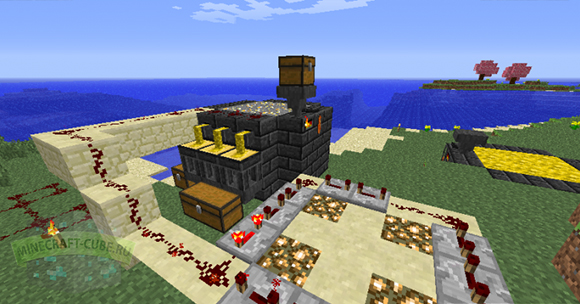 minecraft мод Tinkers Construct pic
